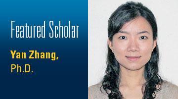Promo Scholar Yan Zhang